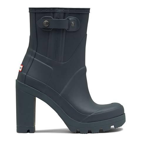 Hunter Women's Green Orginal Heeled Boot