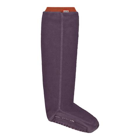 Hunter Navy Blue Original Tall Fitted Boot Socks