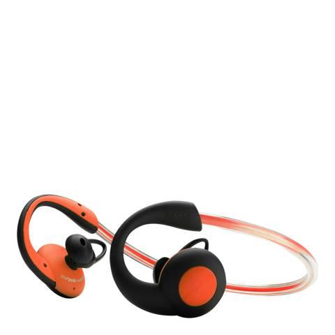 Boompods Orange Sportpods Vision Bluetooth Earphones