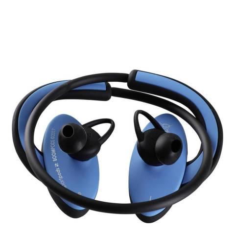 Boompods Black/Blue Sportpods 2 Wireless Earphones