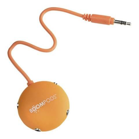 Boompods Orange Multipod Audio Splitter