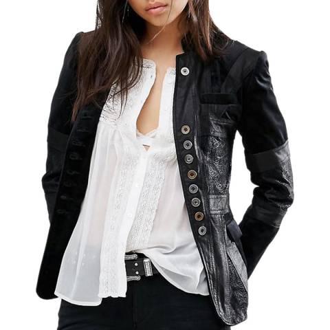 Bolongaro Trevor Black Whoese Leather Jacket