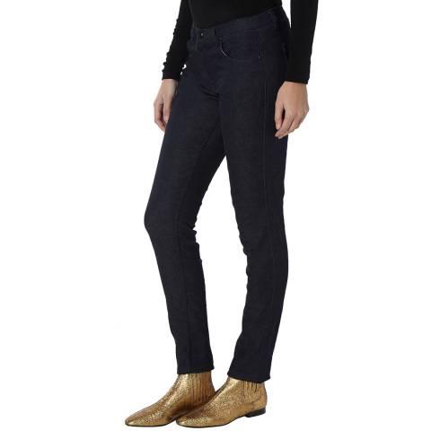 Bolongaro Trevor Navy Stretch Skinny Jeans