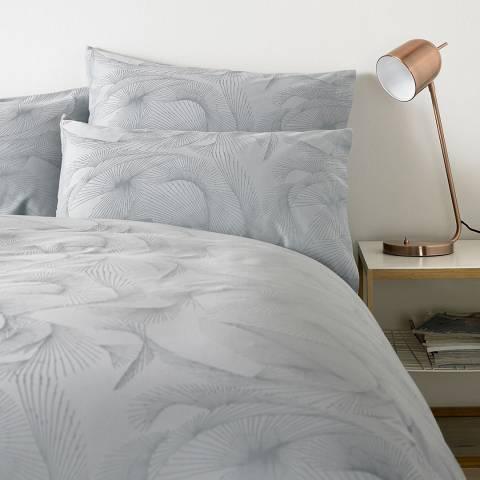 Jigsaw Azurite Housewife Pillowcase, Seafoam