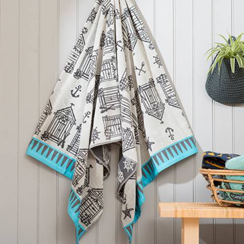 Deyongs Mudeford Beach Towel