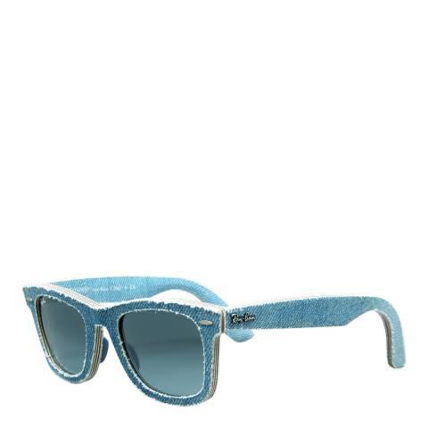 Ray-Ban Unisex Light Blue Denim Original Wayfarer Sunglasses 50mm