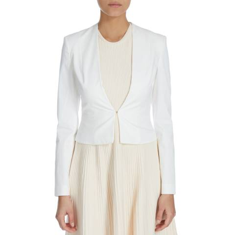 Boss by Hugo Boss White Jalyna Tailored Jacket
