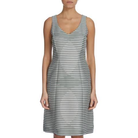 Boss by Hugo Boss Grey Dispya Stripe Dress