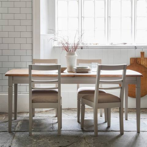 Gallery Bronte Extending Dining Table, Taupe