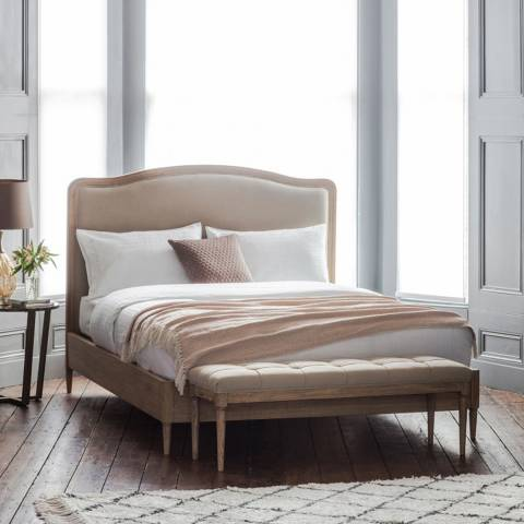 Gallery Loire 5' Bed Cement Linen