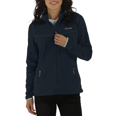 Regatta Navy Floreo II Mid Weight Full Zip Fleece