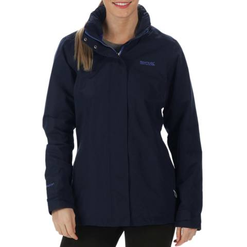 Regatta Navy Daysha Waterproof Shell Jacket
