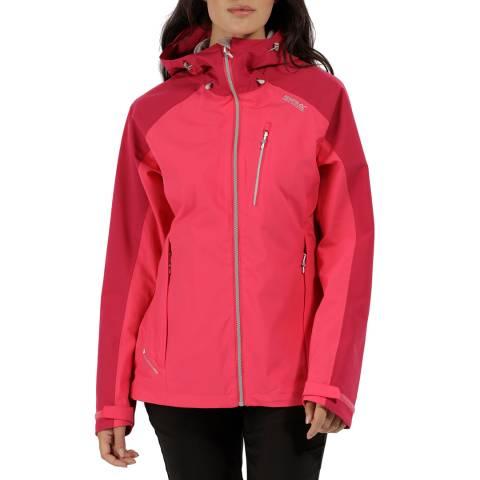 Regatta Pink/Red Birchdale Jacket
