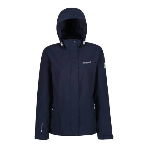 Regatta Navy Calyn Stretch II Waterproof Shell Jacket