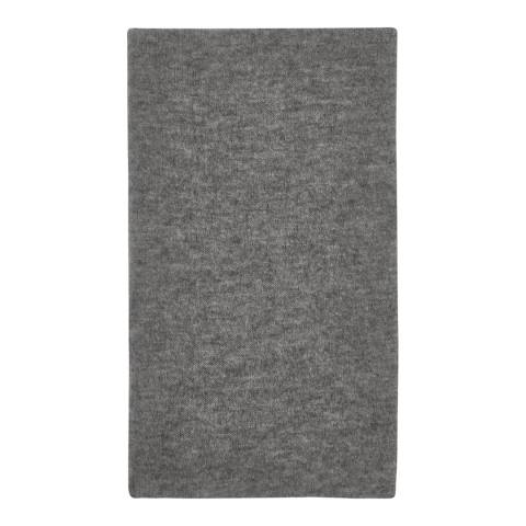 Laycuna London Grey Cashmere Blend Scarf