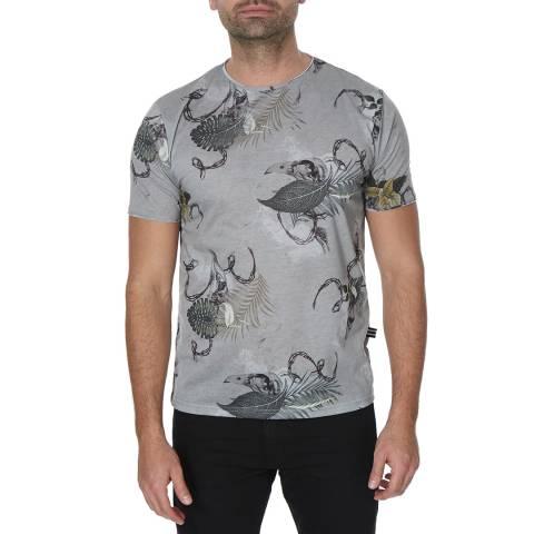 Bolongaro Trevor Khaki Dead Paradise Cotton T-Shirt