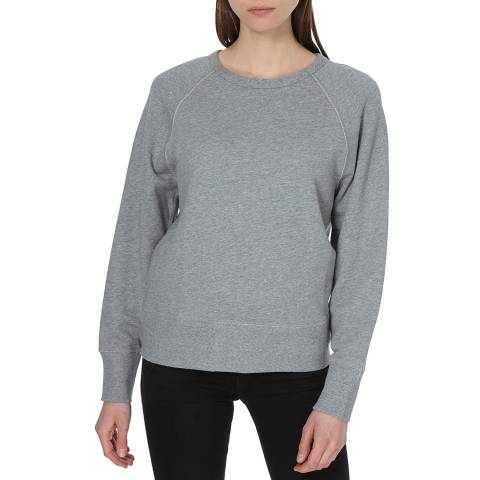 Rag & Bone Women's Heather Grey Brooklyn City Sweatshirt