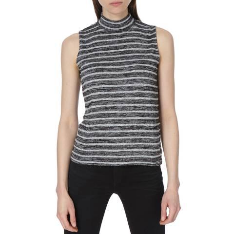 Rag & Bone Women's Black Stripe Thea Tank