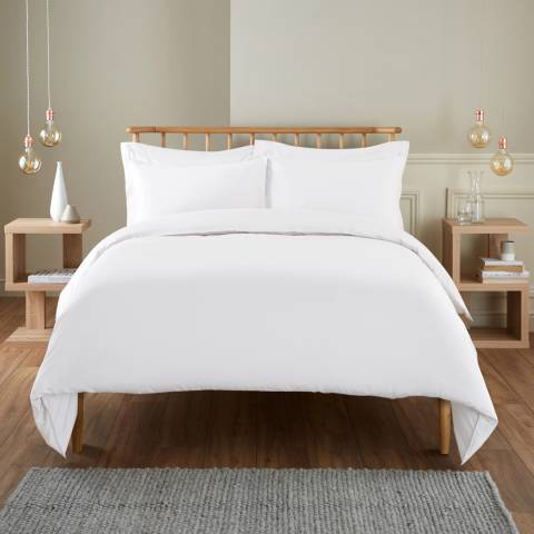 IJP 400TC Single Duvet Cover, White