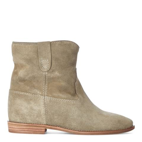 Isabel Marant Women's Taupe Seude Crisi Ankle Boot