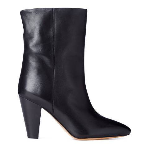 Isabel Marant Women's Black Leather Leydoni boot