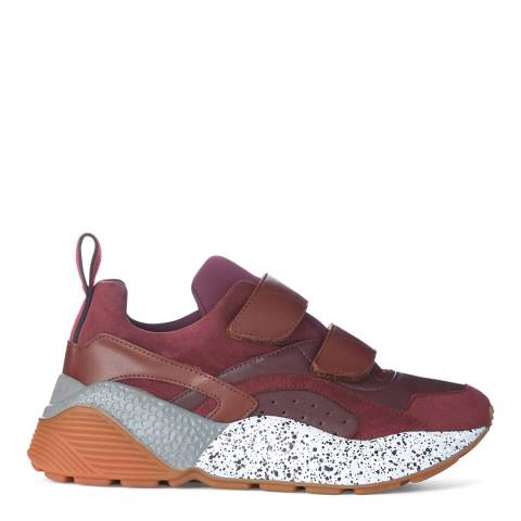 Stella McCartney Women's Burgundy Eclypse Sneaker