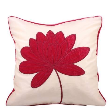 Paoletti Pink Mardi Gras Cushion 45x45cm