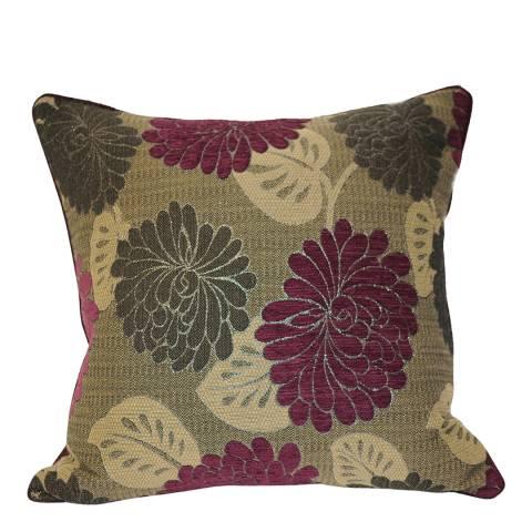 Paoletti Damson Caprice Cushion 55x55cm