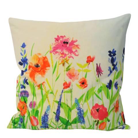 Paoletti Multi Coloured Charlais Cushion 45x45cm