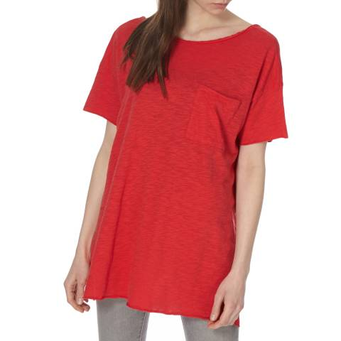 American Vintage Round Collar Shortsleeves Tee-Shirt
