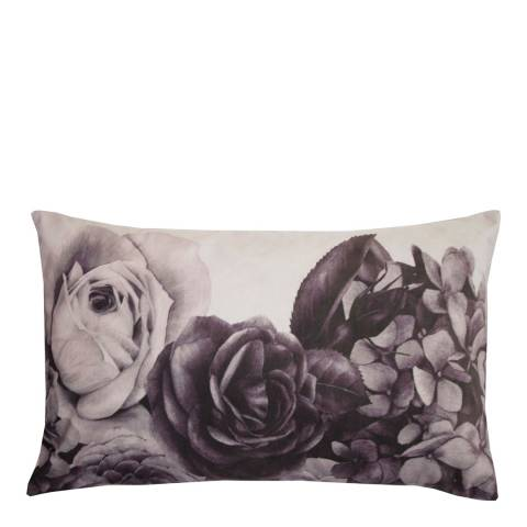 Karl Lagerfeld Mauve Soft Rose Cushion 30 x 50cm