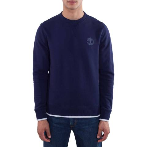 Timberland Men's Blue Tipped Maritime Sweater