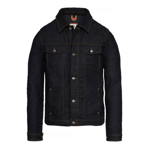 Timberland Men's Black Mount Moosilake Denim Jacket
