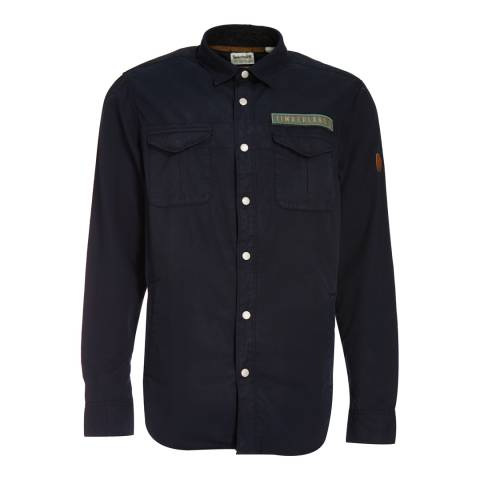 Timberland Men's Dark Navy Mascoma Long Sleeve Shirt