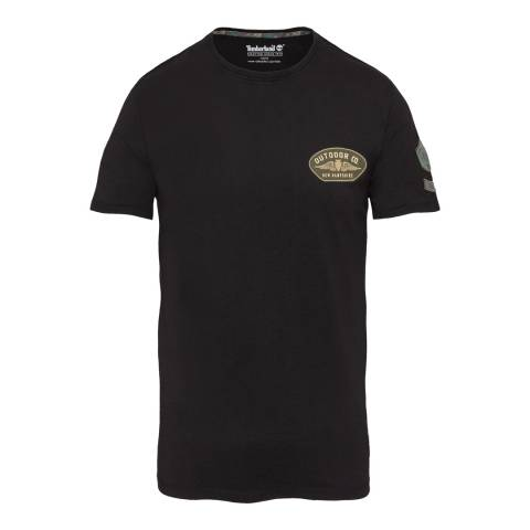 Timberland Men's Black T-Shirt