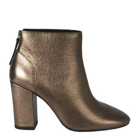 ASH Stone Leather Joy Ankle Boots