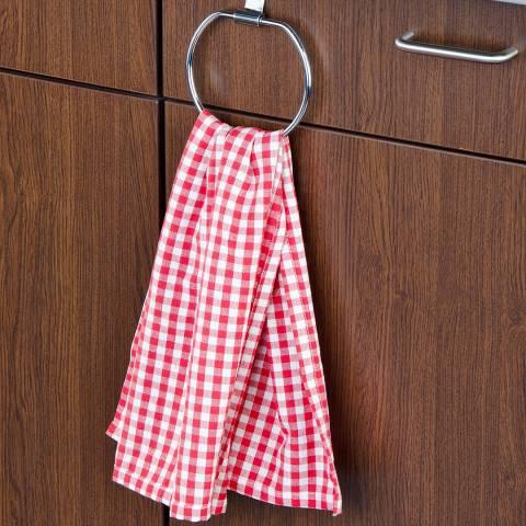 Wenko Set of 6 Over the Door Towel Rings
