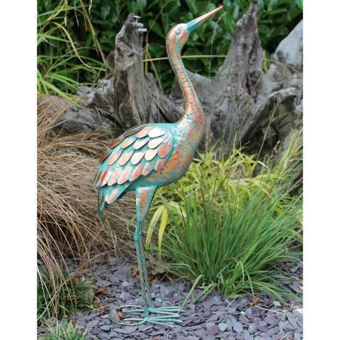 Creekwood Verdigris Patina Crane