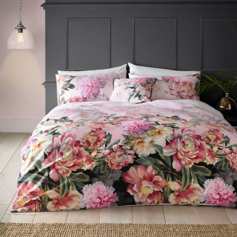 Ted Baker Pair of Painted Posie Housewife Pillowcases