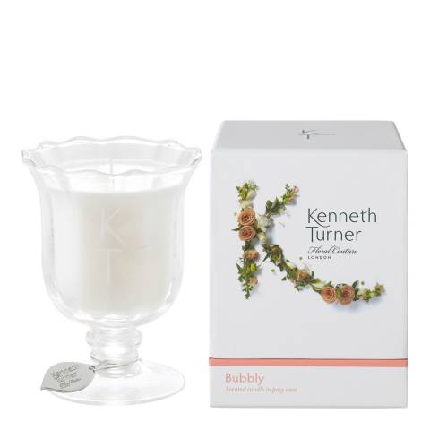 Kenneth Turner Bubbly Scented Candle in Posy Vase, 200g