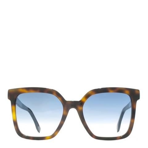 Fendi Women's Dark Brown Funfair Sunglasses 54mm
