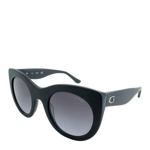 Guess Women's Matte Black Sunglasses 51mm
