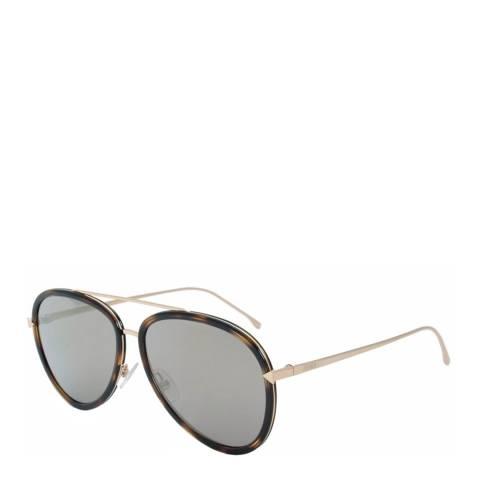 Fendi Women's Brown Funky Angle Sunglasses 57mm