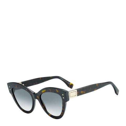 Fendi Women's Brown Peekaboo Sunglasses 52mm