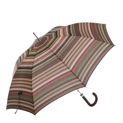 Missoni Large Brown Stripe Umbrella