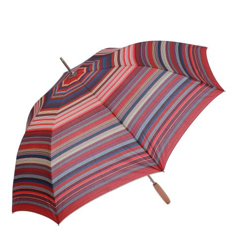 Missoni Burgundy Stripe Umbrella