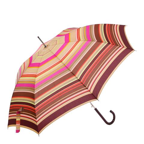 Missoni Burgundy Stripe Umbrella