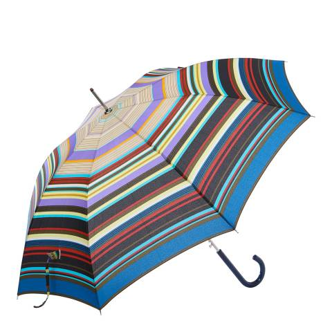 Missoni Light Blue Stripe Umbrella
