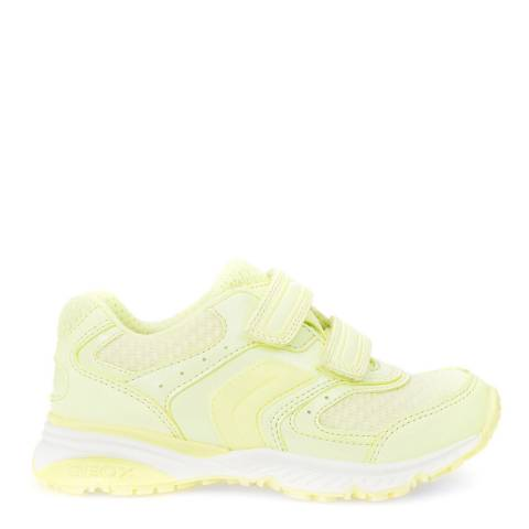 Geox Fluo Yellow J Bernie Trainers