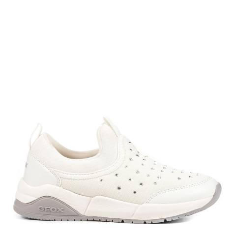 Geox White J Hideaki Shoes